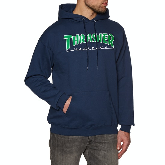 Jersey con capucha Thrasher Outlined