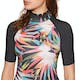 Billabong Flower Short Sleeve Womens Rash Vest