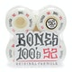 Ruedas de patinete Bones 100's #12 V4 52 Mm