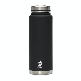 Mizu V12 with Stainless Steel Lid Flask - Enduro Black