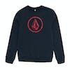 Volcom Stone Crew Kids Sweater - Navy
