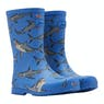 Joules Jnr Roll Up Boys Wellington Boots