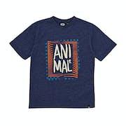 Animal Checkers Boys Short Sleeve T-Shirt