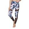 Superdry Active Studio Mesh Womens Leggings - Violet Shard Print
