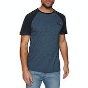 Superdry Orange Label Baseball Short Sleeve T-Shirt