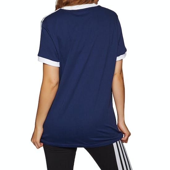 Adidas Originals 3 Stripe Damen Kurzarm-T-Shirt