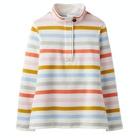Joules Saunton Funnel Neck Ladies Sweater - Multi Stripe