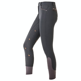 Mark Todd Breeches Elizabeth Sport Ladies Riding Breeches - Anthracite Orange