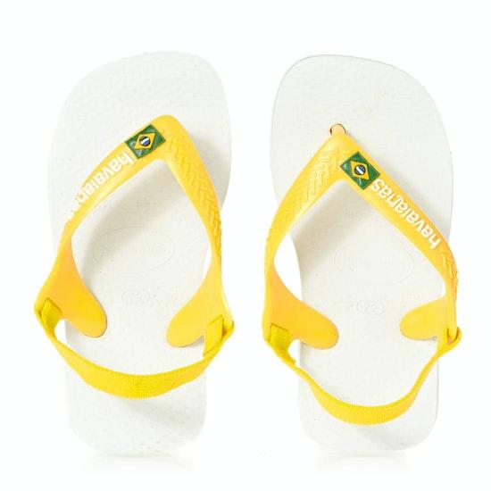 Sandales Havaianas Baby Brasil Logo II