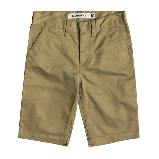 DC Worker Straight Chino Boys Shorts