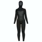 Roxy Syncro Plus 5/4mm Chest Zip Hooded Dames Wetsuit