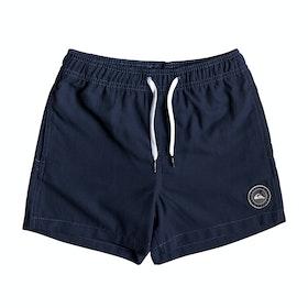 Quiksilver Everyday 13in Boys Swim Shorts - Navy Blazer