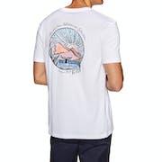Quiksilver Waterman Whale Sunset Short Sleeve T-Shirt