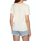 Rip Curl Hula Moon Ringer Ladies Short Sleeve T-Shirt