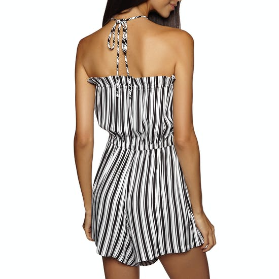Seafolly Midsummer Stripe Pull On Playsuit