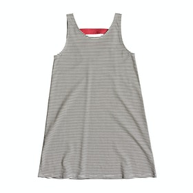 Roxy Leaves Movement Tank Girls Dress - Anthracite