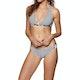 Roxy Beach Classic Full Halter Bikini Top
