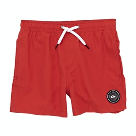Quiksilver Everyday 13in Boys Swim Shorts - High Risk Red