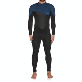 Rip Curl Omega 3/2mm Back Zip Wetsuit - Navy