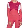 Helly Hansen Hh Lifa Active Crew Womens Base Layer Top - Goji Berry