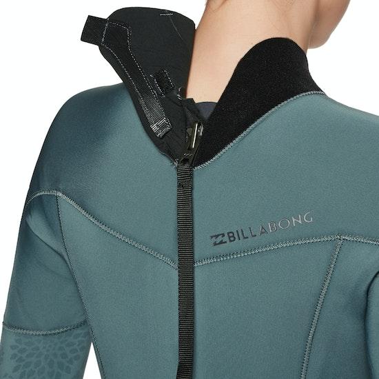 Billabong Furnace Synergy 4/3mm 2019 Back Zip Womens Wetsuit