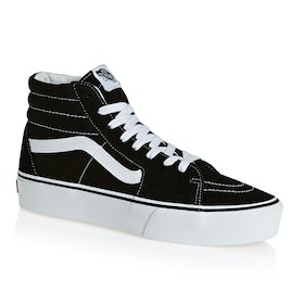 Chaussures Vans SK8 Hi Platform 2.0 - Black True White