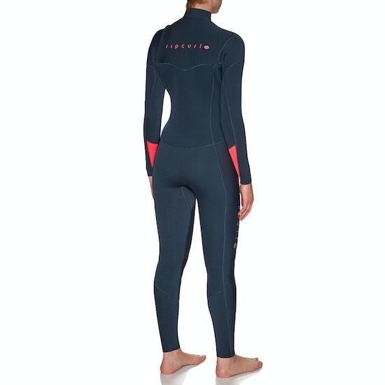 Rip Curl Dawn Patrol 4/3mm 2019 Chest Zip Womens Wetsuit
