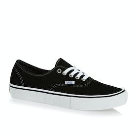 Vans Authentic Pro Suede Shoes - Black