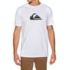 Quiksilver M And W Short Sleeve T-Shirt - White