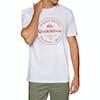 Quiksilver Secret Ingredient Short Sleeve T-Shirt - White