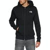 North Face Open Gate Zip Hoody - TNF Black High Rise Grey