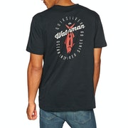 Quiksilver Waterman Aztec Fish Short Sleeve T-Shirt