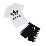 T-Shirt à Manche Courte Enfant Adidas Originals Short Set with