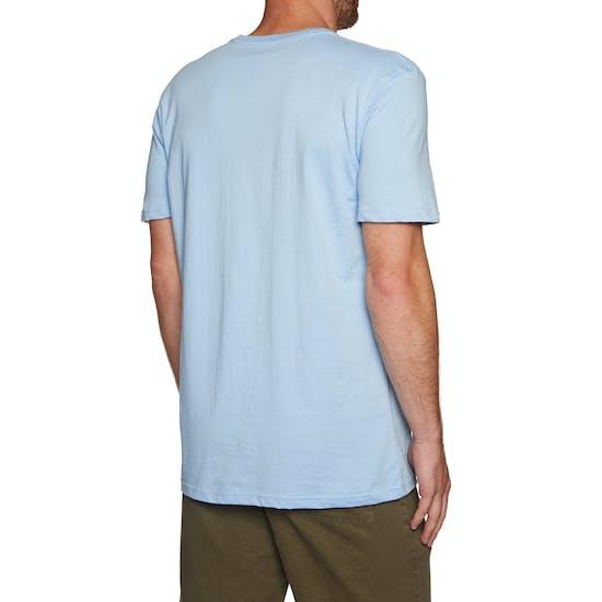 T-Shirt à Manche Courte Quiksilver Live On The Edge Front