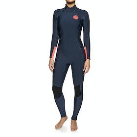 Rip Curl Dawn Patrol 4/3mm Back Zip Wetsuit - Navy