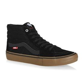 Vans SK8 Hi Pro Shoes - Black Gum