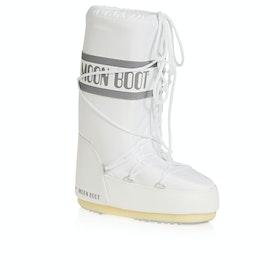 Moon Boot Nylon Dame Støvler - White