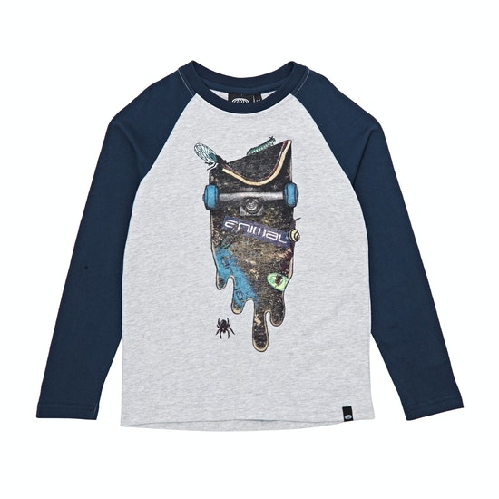 Animal Trails Boys Long Sleeve T-Shirt