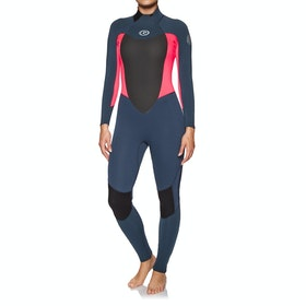Rip Curl Omega 5/3mm Back Zip Womens Wetsuit - Neon Pink