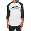 Vans OTW Raglan Long Sleeve T-Shirt - White Black