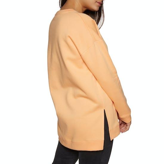 SWELL Bricklane Boyfriend Side Split Crew Womens Sweater