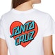 Santa Cruz Heart Dot Womens Short Sleeve T-Shirt