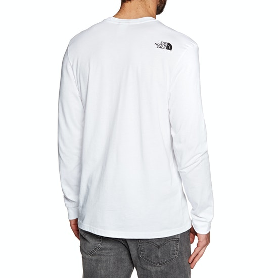 North Face Simple Dome Langarm-T-Shirt