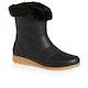 Joules Chilton Premium Short Fur Cuff Womens Boots