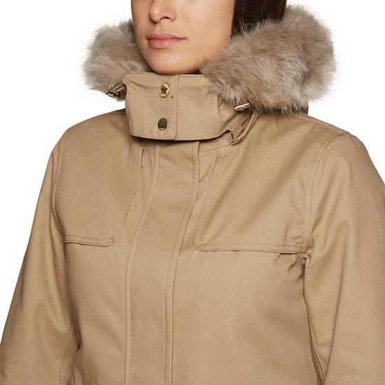 Joules Aspen Fur Trimmed Parka Womens Jacket