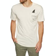 Captain Fin Shark Fin Pocket T-Shirt Korte Mouwen