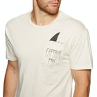 Captain Fin Shark Fin Pocket Short Sleeve T-Shirt