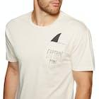 Captain Fin Shark Fin Pocket Short Sleeve T-Shirt