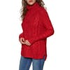 Joules Jessie Cosy Cable Knit Womens Sweater - Reluctant Red