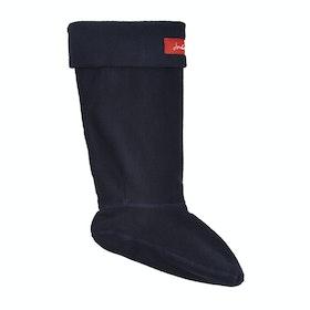 Joules Welton Womens Wellingtons Socks - Marine Navy Blue